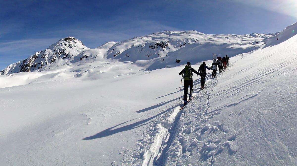Aufstieg zum Grossen Schinhorn