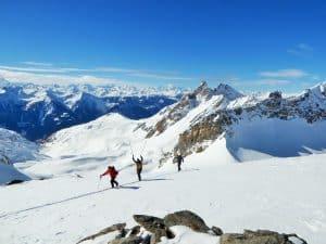 Skitour Mauerhorn Lötschental