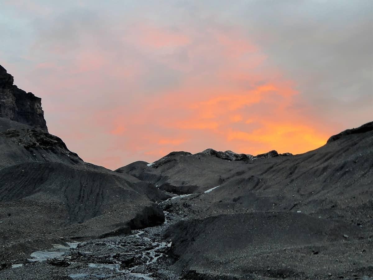 Hochtour Wildstrubel Sonnenaufgang1