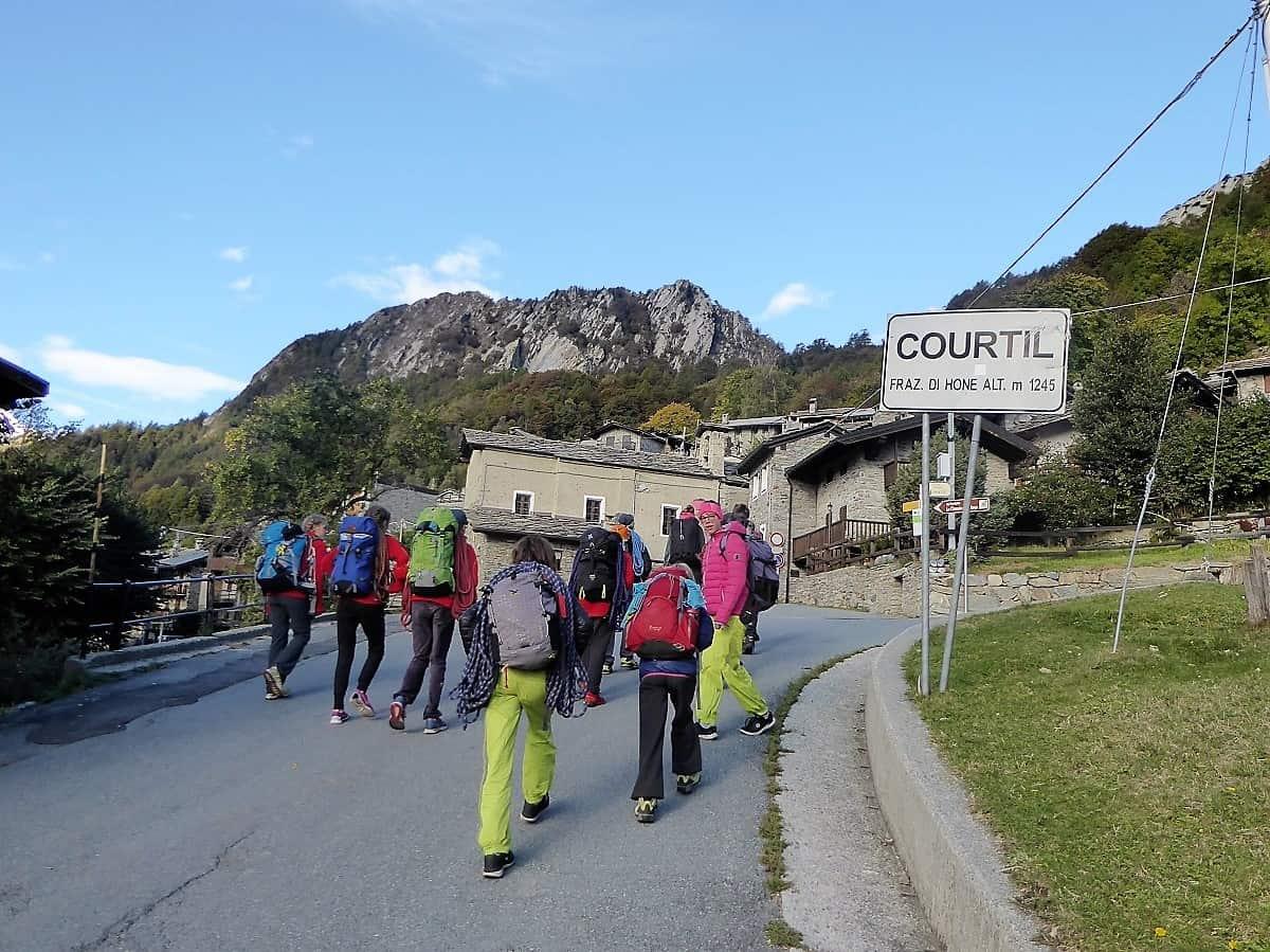 Klettern Aosta 7