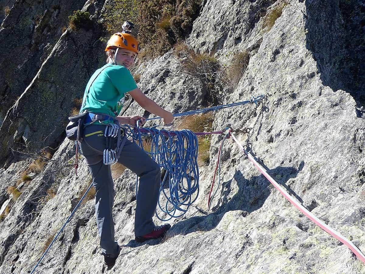 Klettern Aosta 8