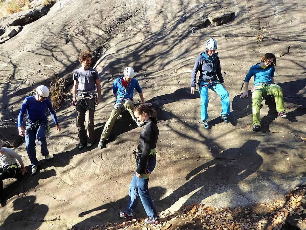 Klettern Aufbau-Kurs Ausbildung 8