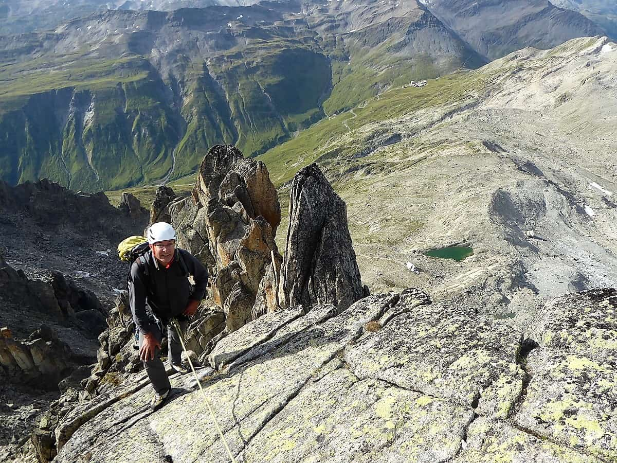 Klettern Furka 4