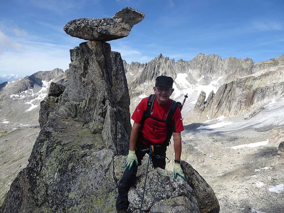 Klettern Furka 5