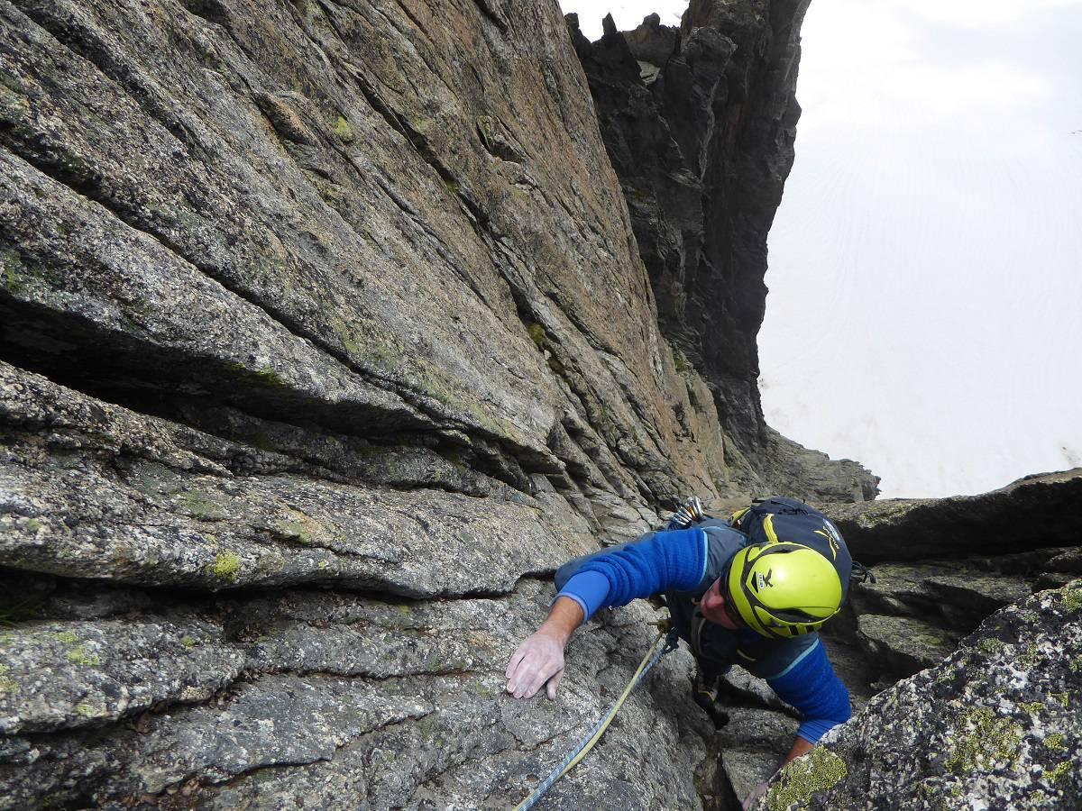 Klettern Furka 7