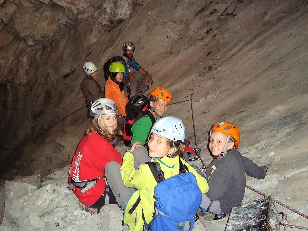 Klettersteig Bietschtal-Schlucht 3