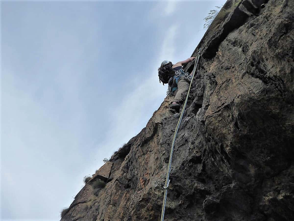 Klettern-Aosta