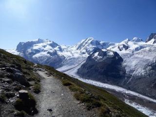 Monte-Rosa-Hütte Trekking