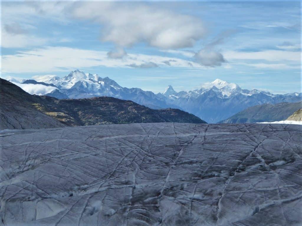 Aletschgletscher-Trekking