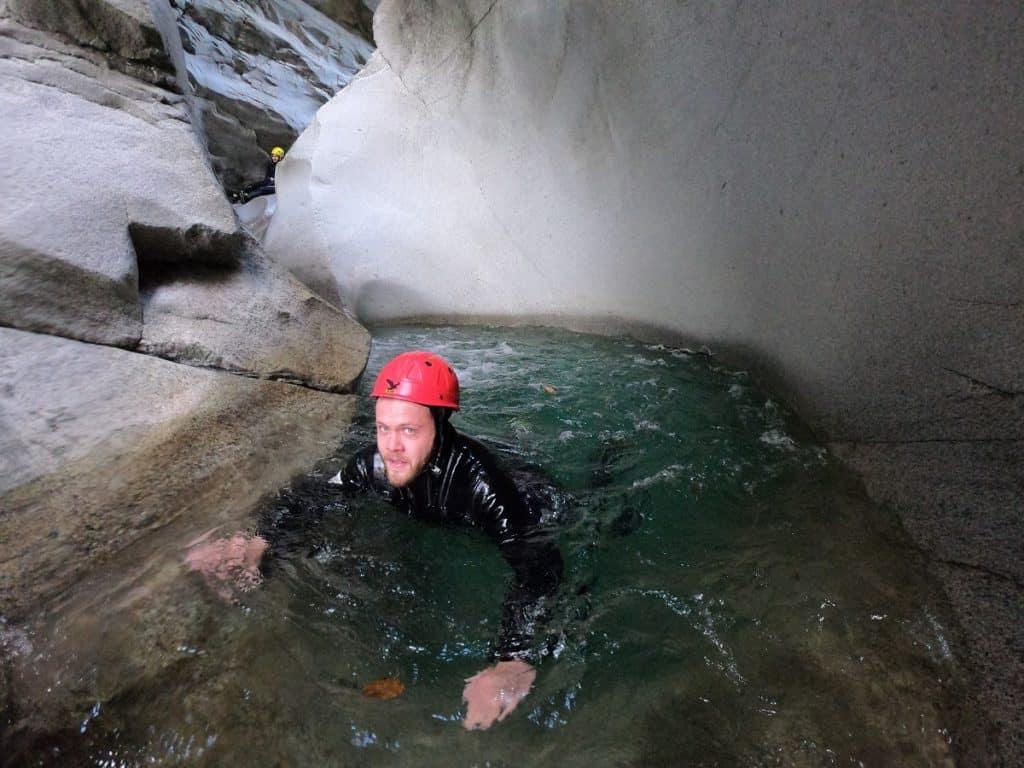 Canyoning Zwischbergenschlucht