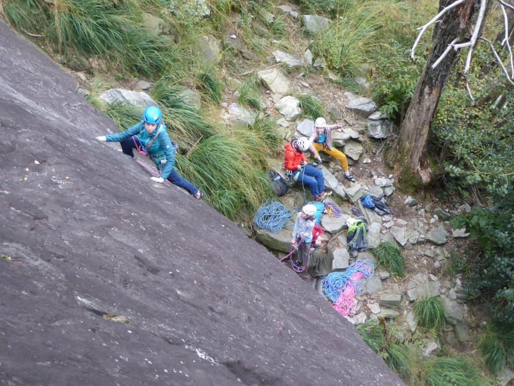 Klettern-Tessin