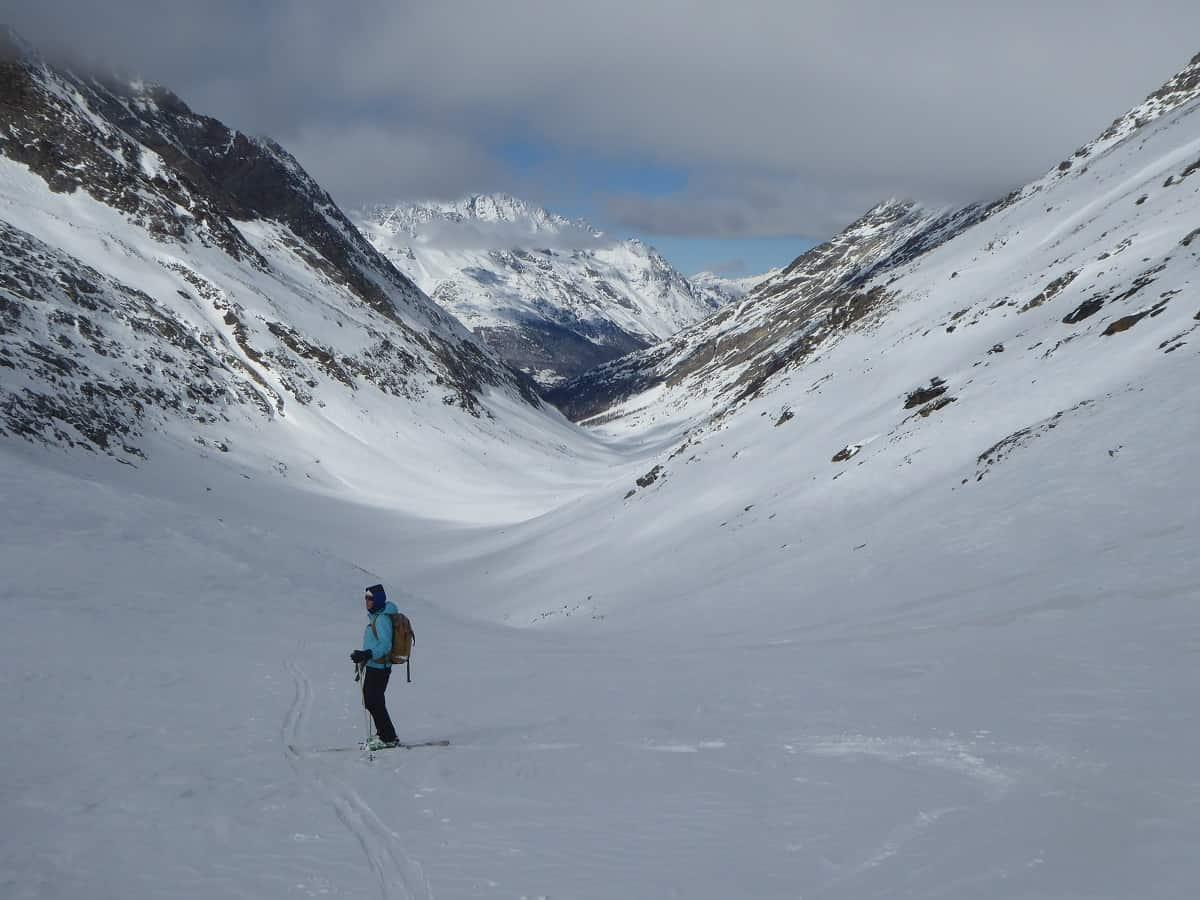 Skitour Cresta-Biwak Latelhorn