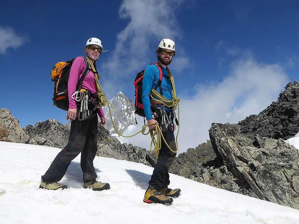 Bergsteigen lernen 6