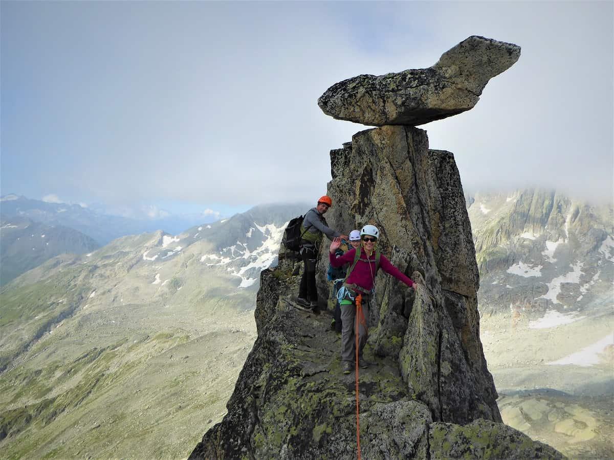 Bergsteigen lernen 8