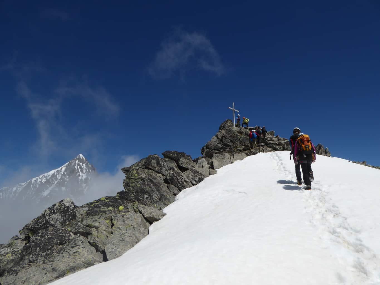 Bergsteigen lernen