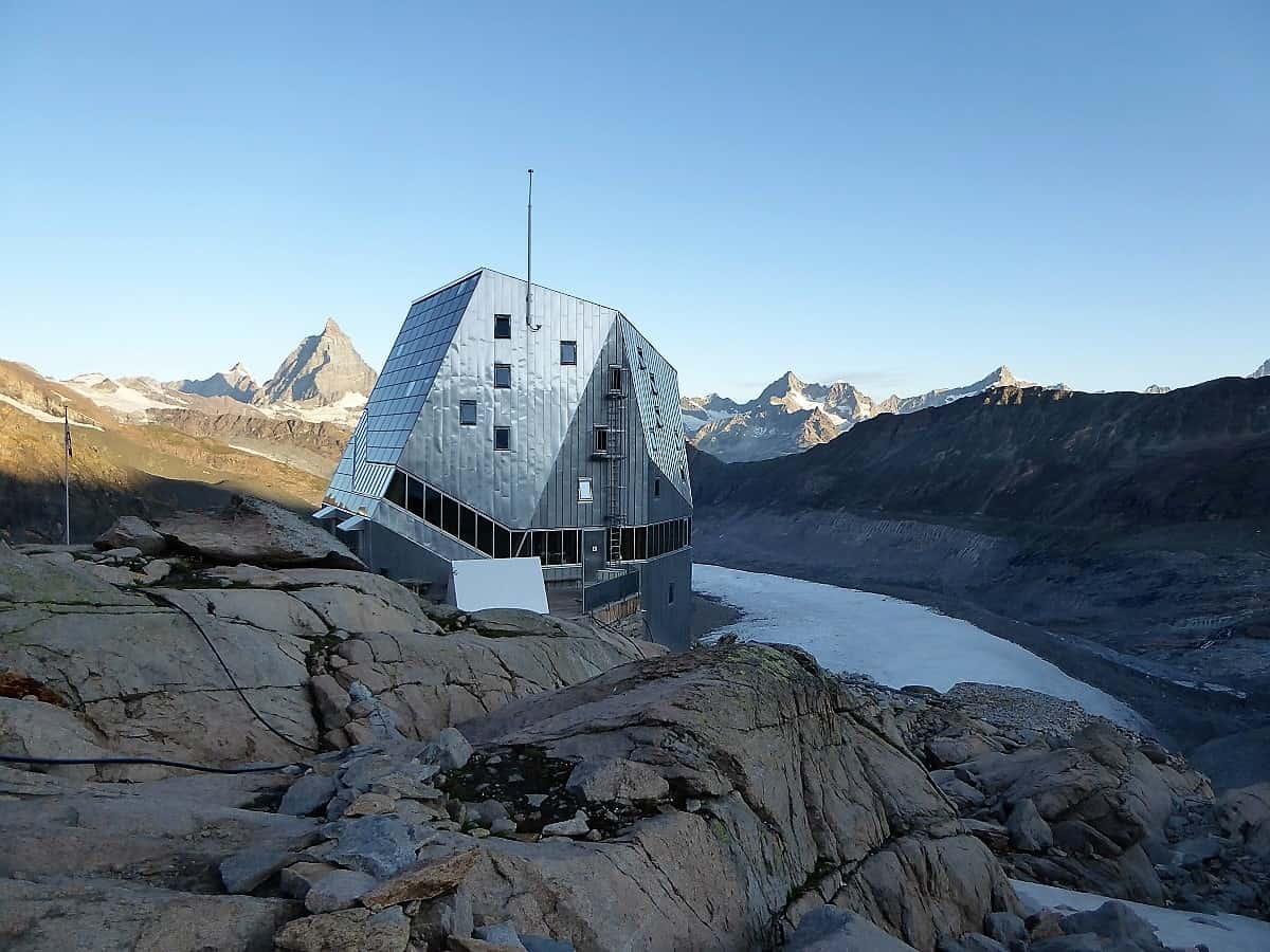 Monte-Rosa-Hütte Gletschertrekking 11
