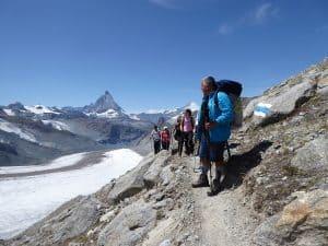 Monte-Rosa-Hütte Gletschertrekking 3