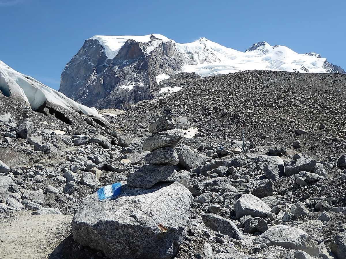 Monte-Rosa-Hütte Gletschertrekking 6
