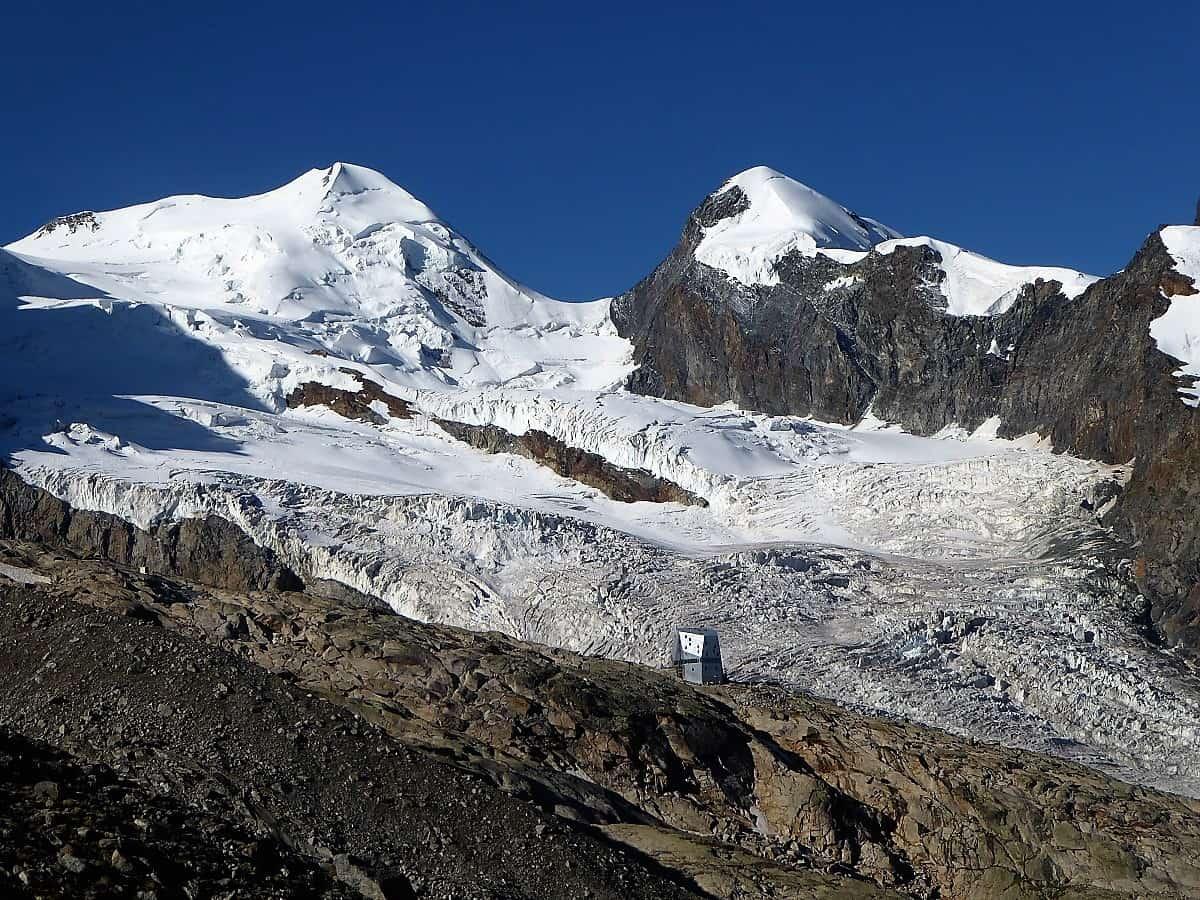 Monte-Rosa-Hütte Gletschertrekking 7