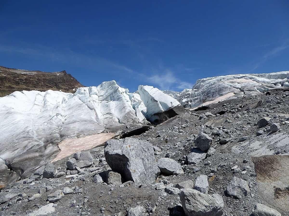 Monte-Rosa-Hütte Gletschertrekking 8