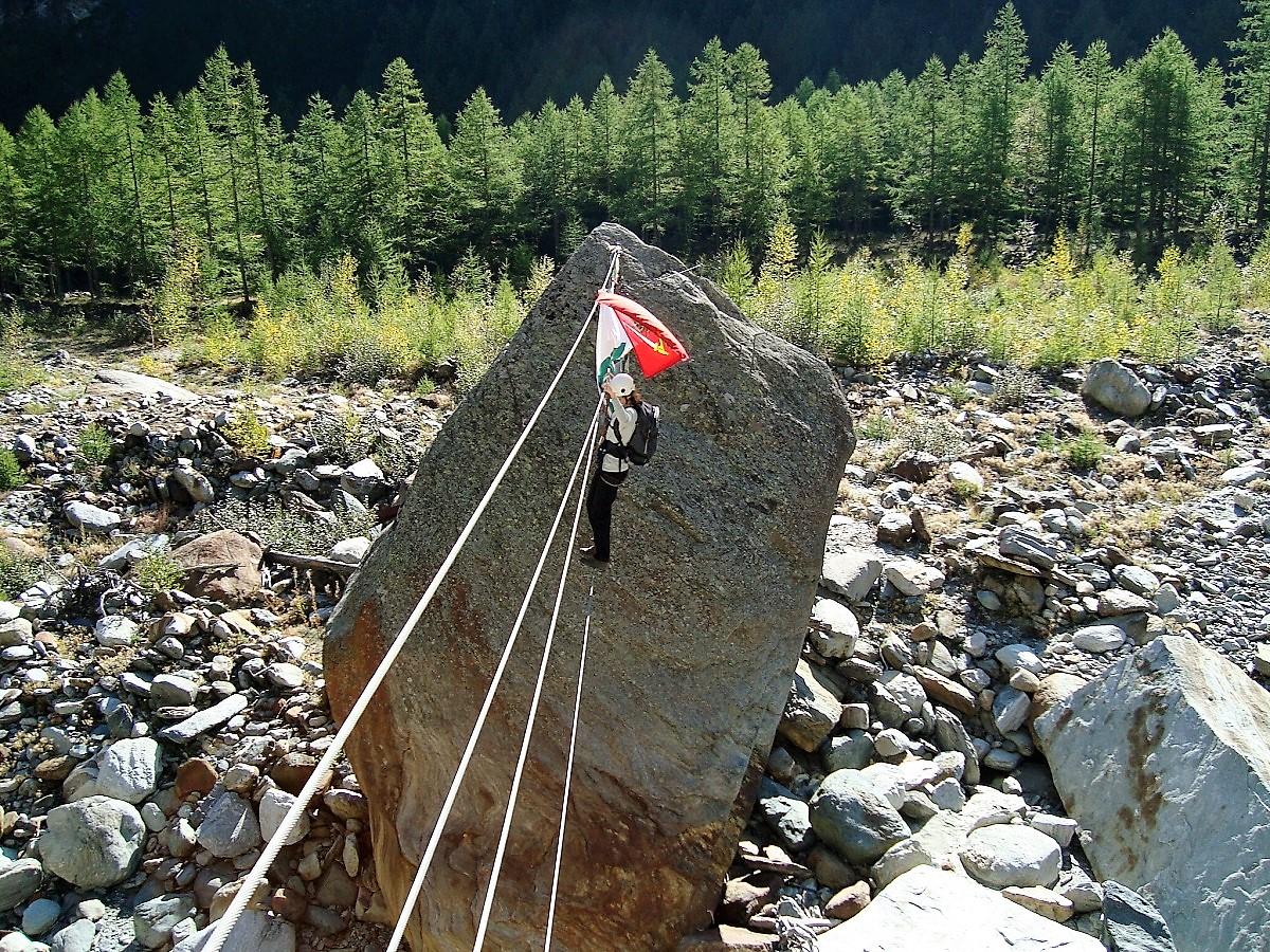 Klettersteig Kurs Gabi